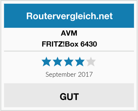 AVM FRITZ!Box 6430 Test