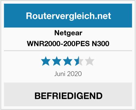 Netgear WNR2000-200PES N300 Test
