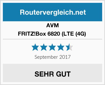 AVM FRITZ!Box 6820 (LTE (4G)  Test