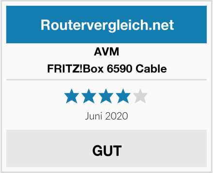 AVM FRITZ!Box 6590 Cable Test