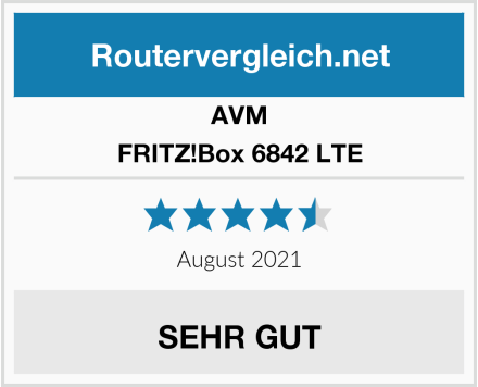 AVM FRITZ!Box 6842 LTE Test
