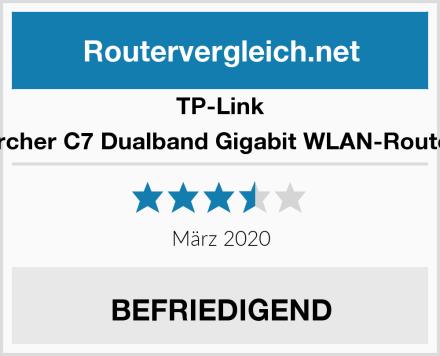 TP-Link Archer C7 Dualband Gigabit WLAN-Router Test