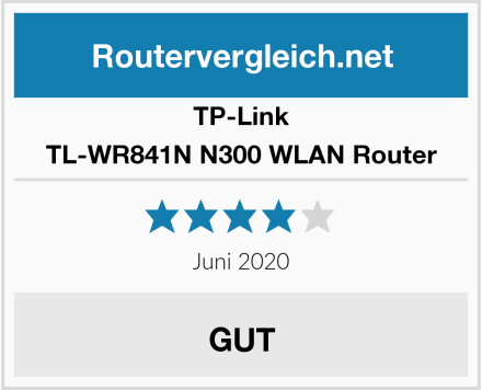 TP-Link TL-WR841N N300 WLAN Router Test
