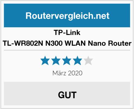 TP-Link TL-WR802N N300 WLAN Nano Router Test