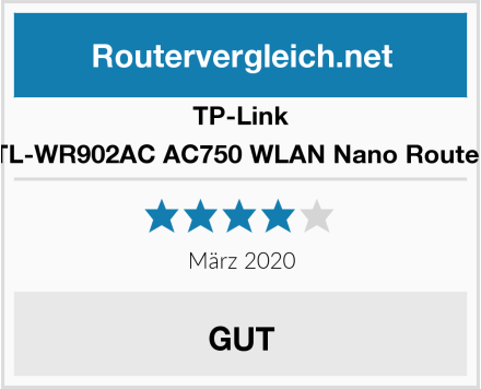 TP-Link TL-WR902AC AC750 WLAN Nano Router Test