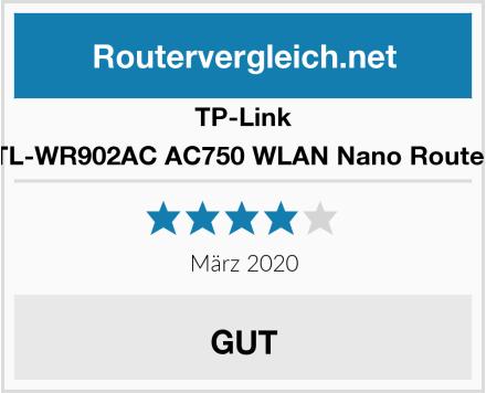 TP-Link TL-WR902AC AC750 WLAN Nano Router Test