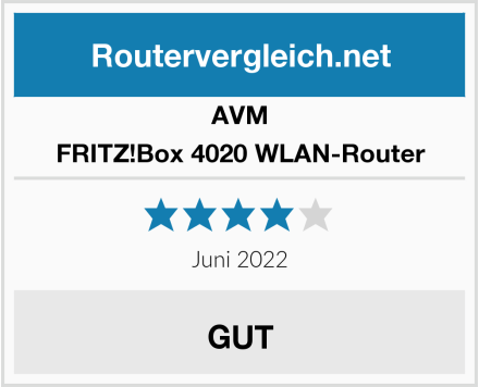 AVM FRITZ!Box 4020 WLAN-Router Test
