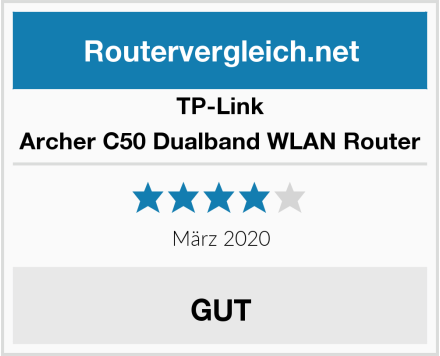 TP-Link Archer C50 Dualband WLAN Router Test