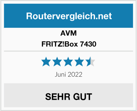 AVM FRITZ!Box 7430 Test