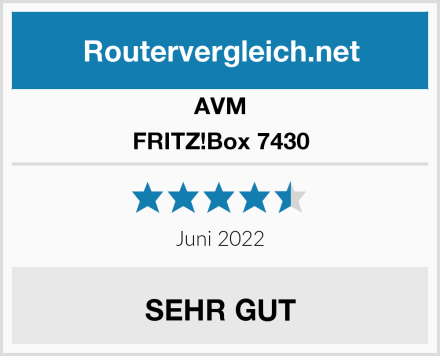 AVM FRITZ!Box 7430 Test