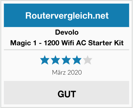 Devolo Magic 1 - 1200 Wifi AC Starter Kit Test