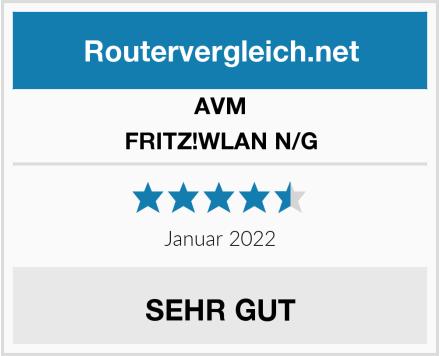 AVM FRITZ!WLAN N/G Test