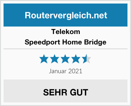 Telekom Speedport Home Bridge Test