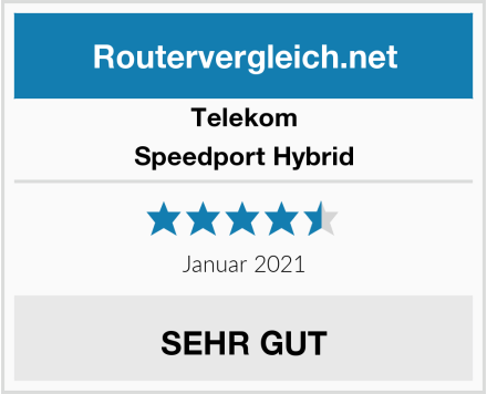 Telekom Speedport Hybrid Test