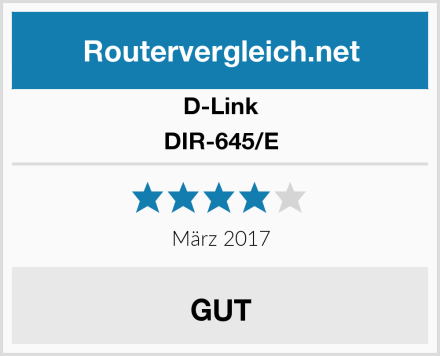 D-Link DIR-645/E Test