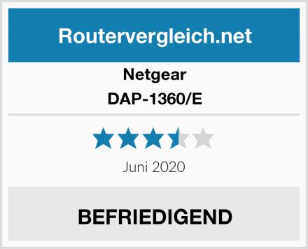 Netgear DAP-1360/E Test