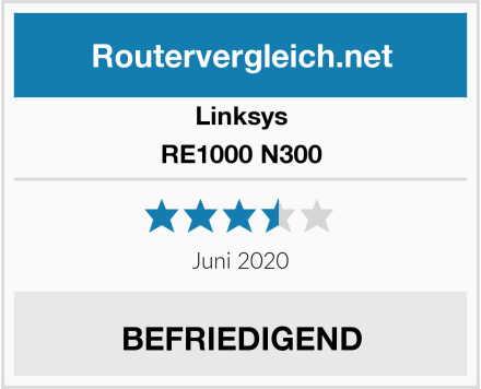 Linksys RE1000 N300 Test
