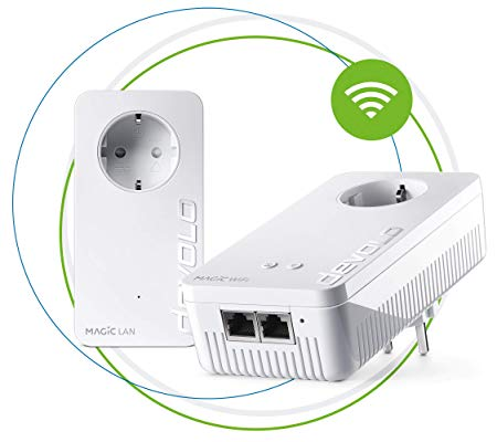 Devolo Magic 1 - 1200 Wifi AC Starter Kit