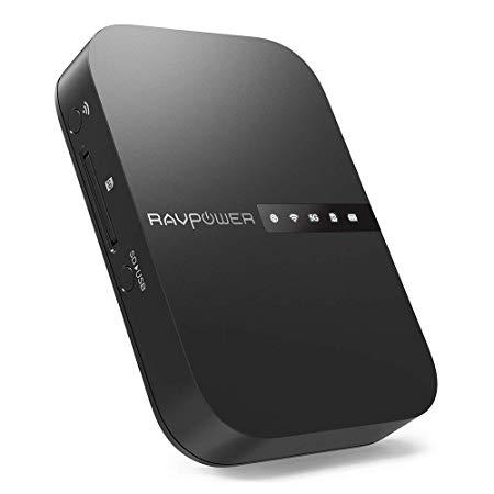 RAVPower Filehub Reise WiFi Router AC750
