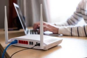 Stromverbrauch eines Routers